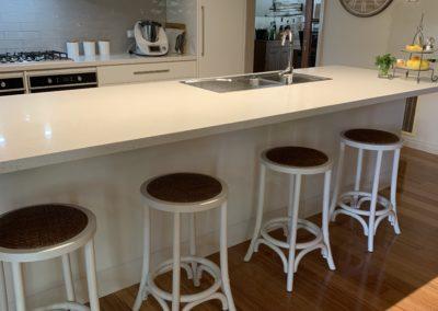 refurbished white kitchen