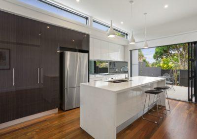 modern galley kitchen picture
